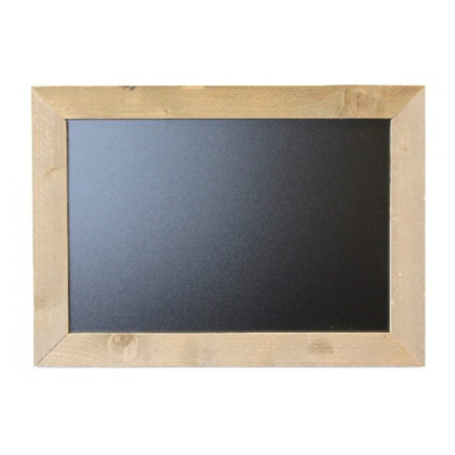Chalkboard, scaffolding wood, 50x70cm, Brown. 1