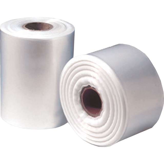 Foil, tubular film, LDPE, 20cm, 250m, 100my, transparent 1