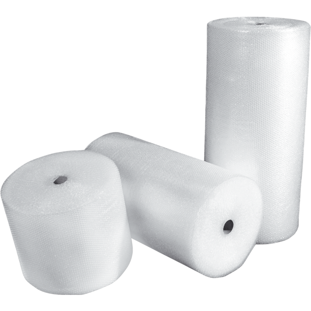 Foil, bubble wrap, LDPE, 120cm, 150m, transparent 1