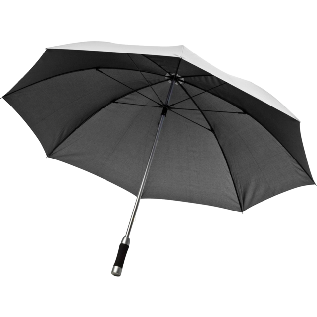 Umbrella, manual, silver 1