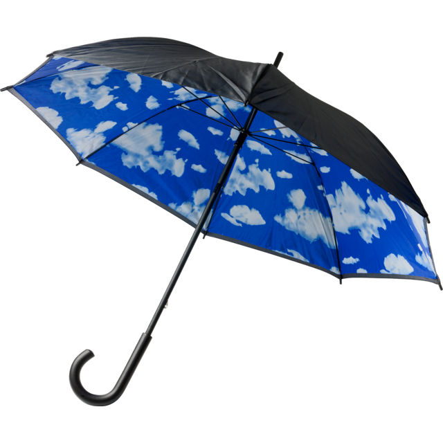 Umbrella, manual, blue 1