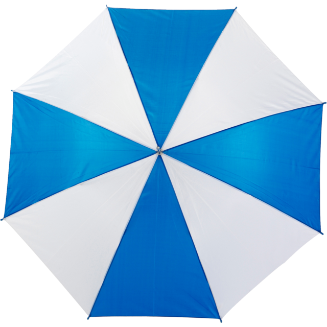 Umbrella, golf, blue/White 1