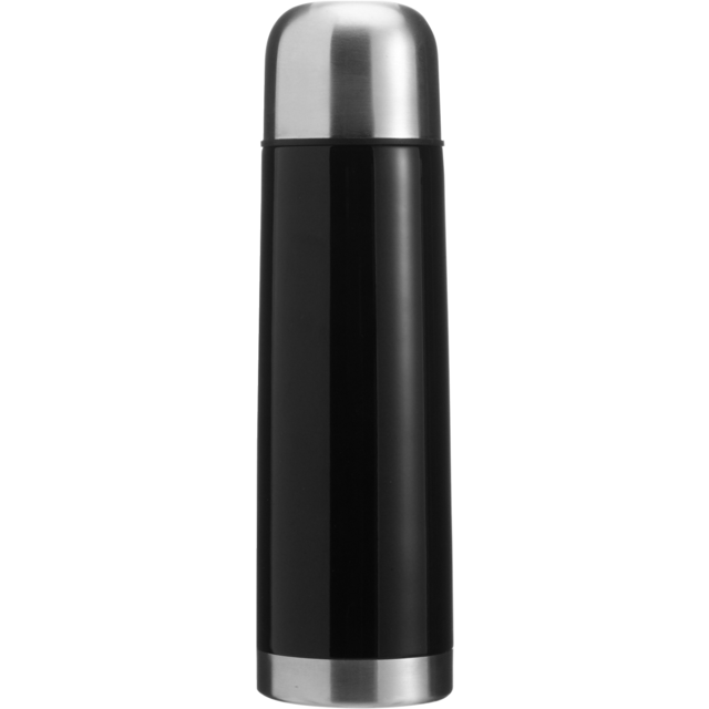 Bottle, thermosfles, Stainless steel, 500cc, black 1