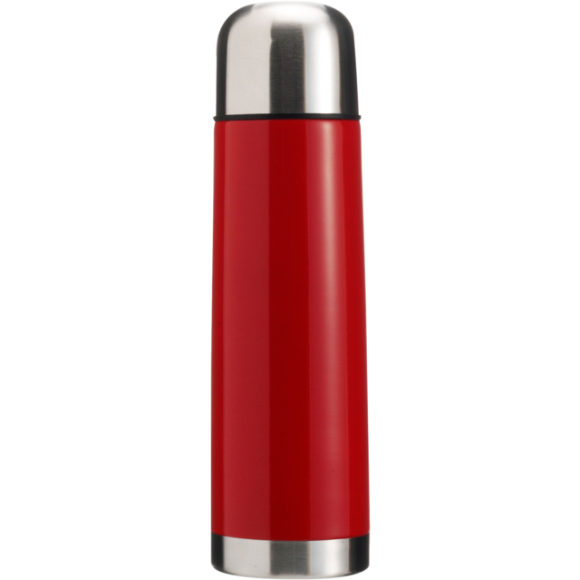 Fles, thermosfles, Stainless steel, 500cc.rood 1