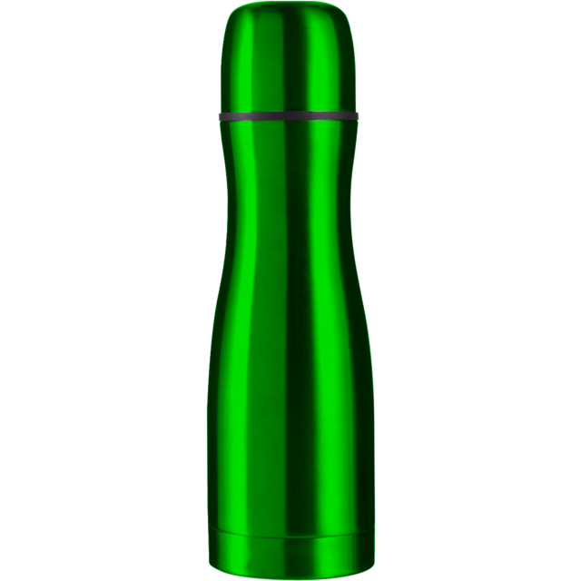 Bottle, thermosfles, Stainless steel, 500cc, green 1
