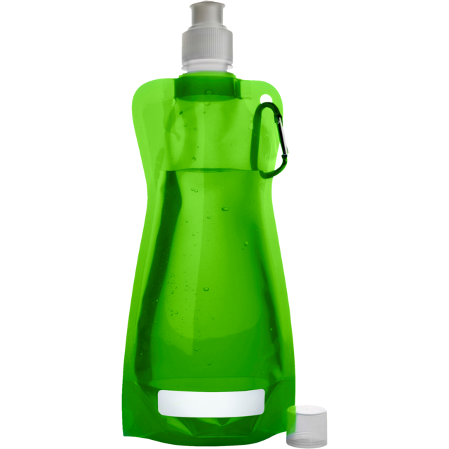 Water bottle, Ø12cm, 420cc, 26gr, 27,3cm, light Green. 1