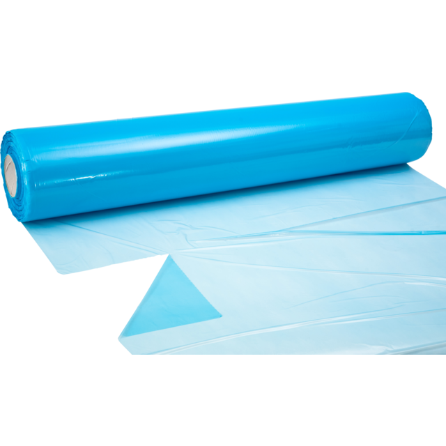 Foil, covering film, LDPE, 98cm, 20my, blue 1