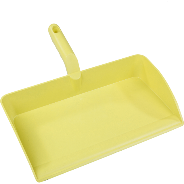 Qleaniq® Dustpan, PP, yellow 1