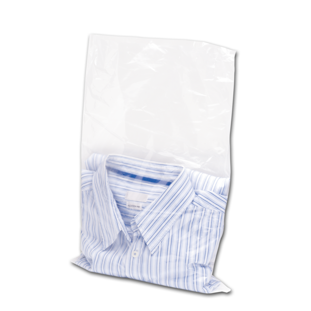Flat Bag Ldpe 32x50cm 70my Transparent 135325