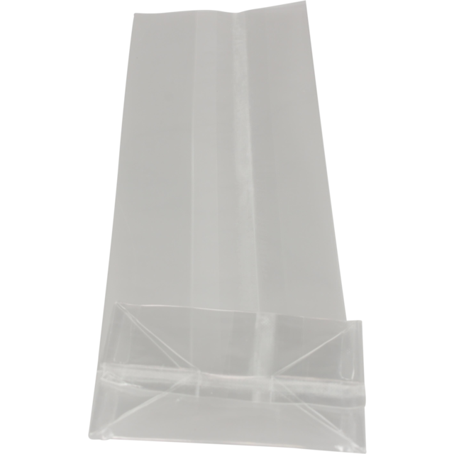 Block bottom bag, PP, 8/5x25cm, 40my, transparent 1
