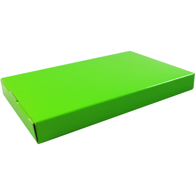SendProof Fits through letterbox - box, Cardboard, 160x255x28mm, green 1