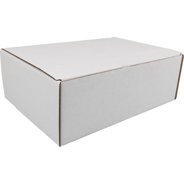 SendProof Mailing box, Corrugated cardboard, 302x215x105mm, white 1