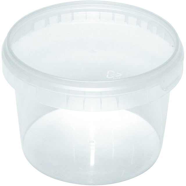 Cup, PP, 565ml, Ø 95mm, transparent. 1