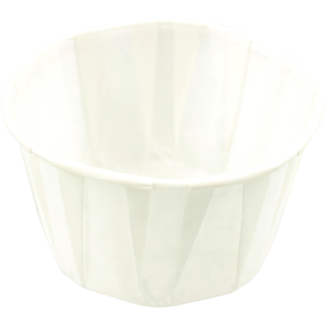 Container, Paper, 80ml, saus cup, white 1