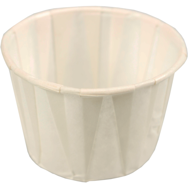 Container, Paper, 50ml, saus cup, white 1