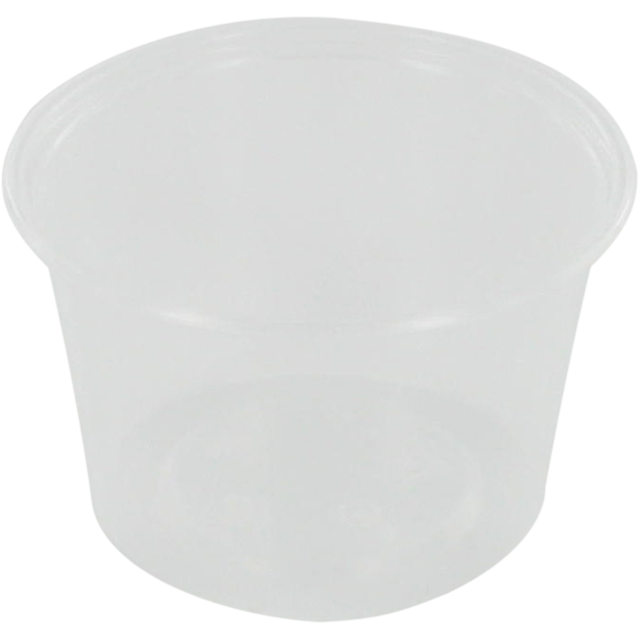 Container, PP, 100ml, Ø72mm, plastic cup, 44mm, transparent 1