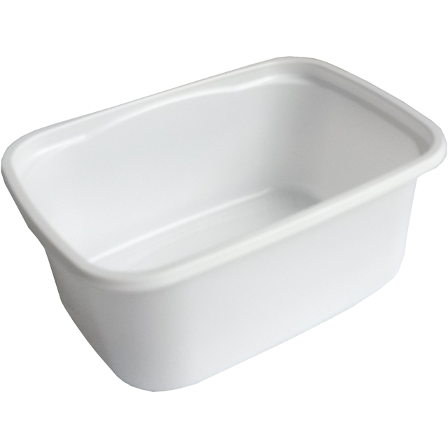 Container, PP, 250cc, 108x82x44mm, white 1