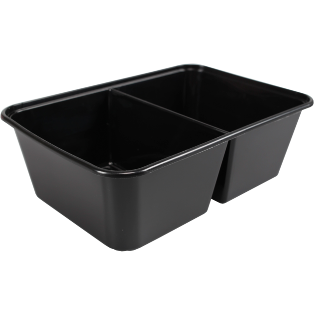 Container, PP, 172x120x50mm, black 1