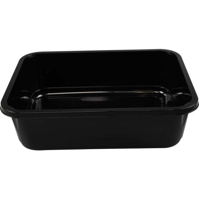 Container, PP, H320, menu container, 312x245x88mm, black 1