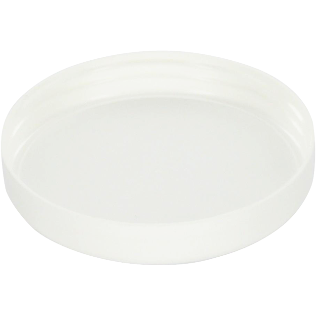 Cap, PP, 70mm, white 1