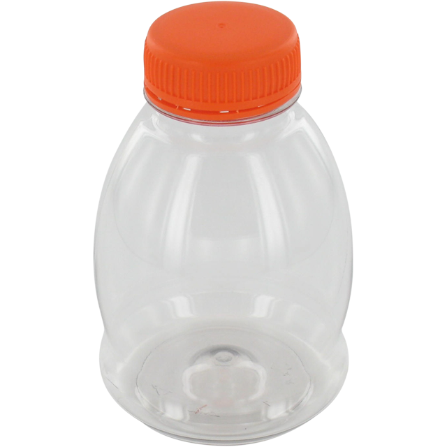 Bottle, pET bottle, PET, sphere, 250ml, transparent 1