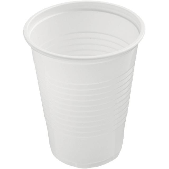 Depa, Drinking cup, PS, 180ml, white 1