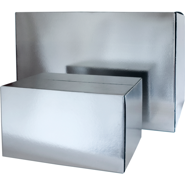 SendProof Cool box, 225x195x150mm, silver 1