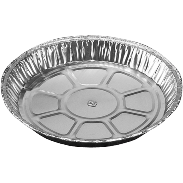 Catering serving tray , dish/Platter - round, Aluminum, round, 400ml, ∅150mm, aluminum 1