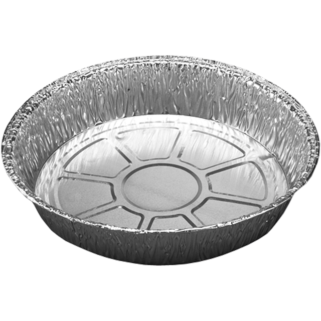 Catering serving tray , dish/Platter - round, Aluminum, round, 800ml, ∅185mm, aluminum 1