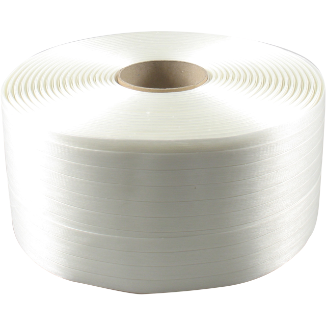 polyesterband wit 19mm       rol/600 mtr 1
