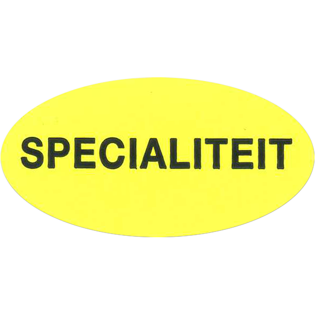 Label, Sale/Reduced label, Paper, Speciality, 51x26mm.fluorescent Yellow 1