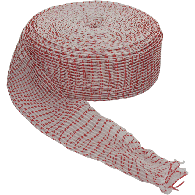 Euronet, Rolled meat joint net, R14, Red/White. 1