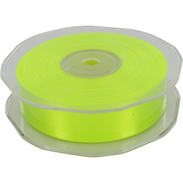 Ruban, 25mm, 25m, jaune fluorescent 1
