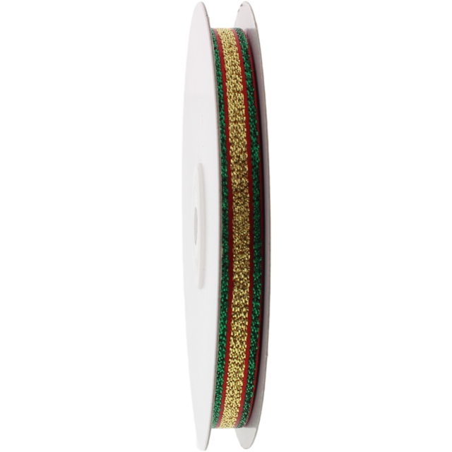 Ribbon, 12mm, 15m, red/Green 1