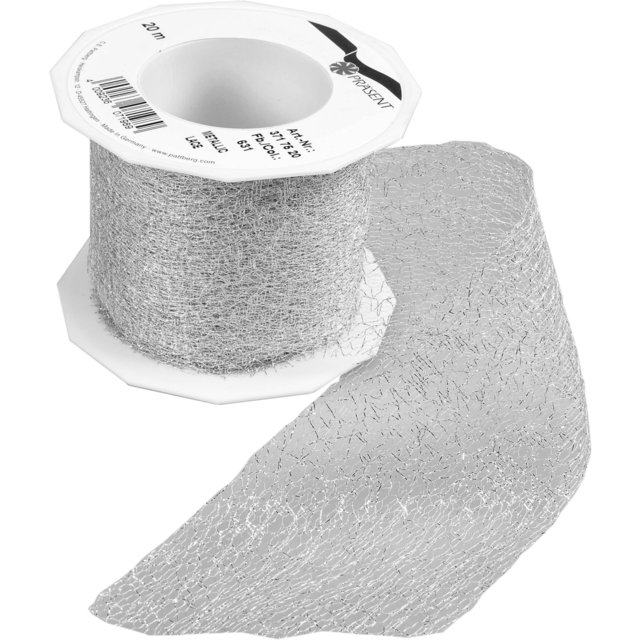 Ribbon, 72mm, 20m, silver 1