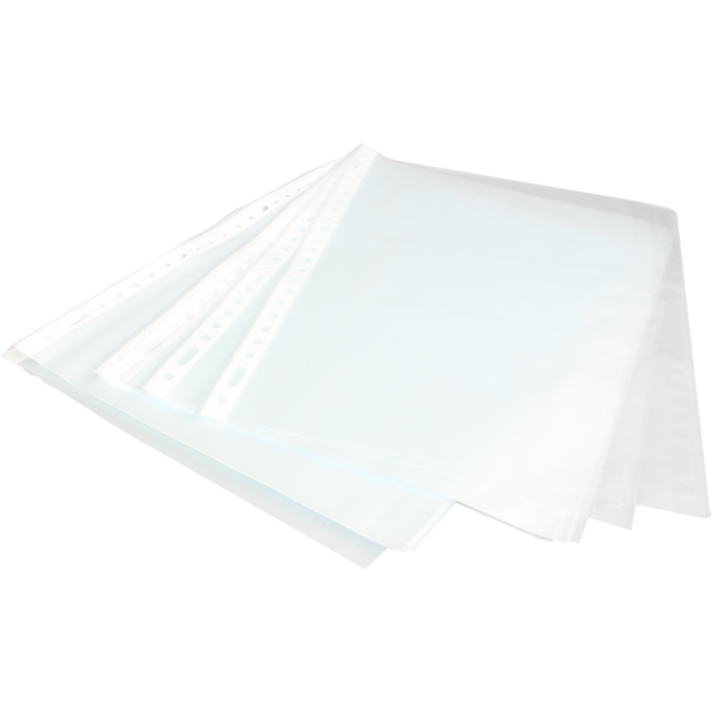 Niceday Clear folder, PP, A4, 210x297mm, 23 holes, Transparent. 1