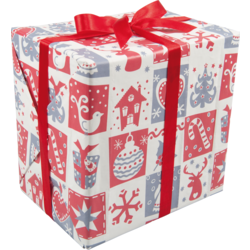 Gift-wrapping paper, 50cm, 200m, Pictionary,