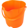 Qleaniq® Seau, PP, 15L, orange