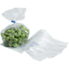 Side fold bag, LDPE, 7/2,25x18cm, 20my, transparent