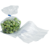 Side fold bag, LDPE, 10/4x30cm, 20my, transparent