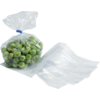 Side fold bag, LDPE, 14/4x26cm, 20my, transparent