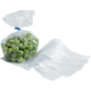 Side fold bag, LDPE, 14/4x32cm, 20my, transparent