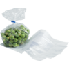 Side fold bag, LDPE, 14/4x38cm, 20my, transparent