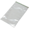 Rib-seal bag, LDPE, 12x18cm, transparent