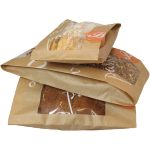 Bread and pastry bag, Paper, 11/5x34cm, Delicious,
