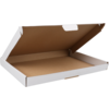 SendProof Fits through letterbox - box, Cardboard, 310x220x28mm, white