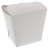 Container, Cardboard, 230ml, asian meal container, 60x45x64mm, white
