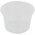 Container, PP, 100ml, Ø72mm, plastic cup, 44mm, transparent