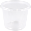 Container, PP, 400ml, Ø101mm, ripple cup, transparent
