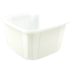 Container, PP, 500cc, 114x114x58mm, white